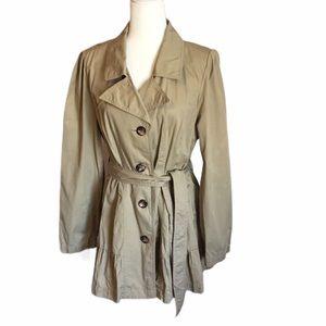 Decree Lightweight Khaki Trench coat EUC